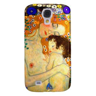 Mother and Child by Gustav Klimt Art Nouveau Samsung S4 Case