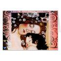 Mother and Child by Gustav Klimt Collage Card (<em>$3.15</em>)