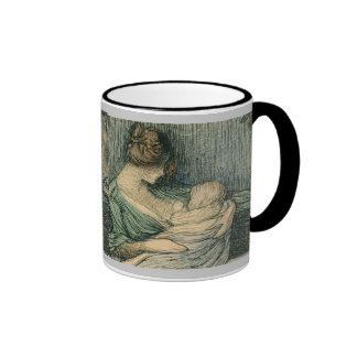 Mother and Child by Janis Rozentals Coffee Mug