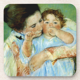 Mother and Child by Mary Cassat Coaster