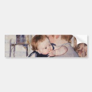 Mother and Child by Mary Cassatt Car Bumper Sticker