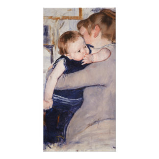 Mother and Child by Mary Cassatt Card