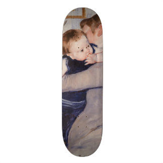 Mother and Child by Mary Cassatt Skateboard Deck