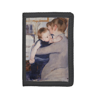 Mother and Child by Mary Cassatt Tri-fold Wallet