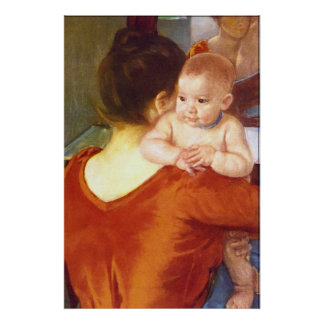 Mother and Child by Pierre Renoir Print