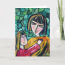 Mother and Child Card - Mothering Sunday Card
