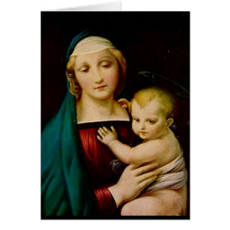 Mother and Child Christmas card