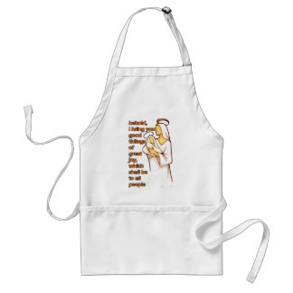 Mother and Child Christmas Design Adult Apron