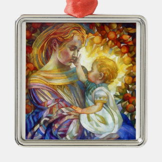 Mother and Child Christmas Ornament