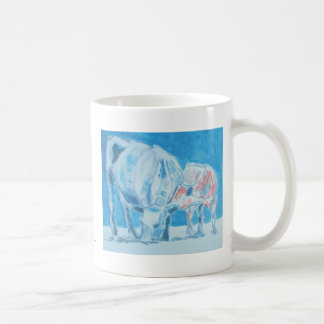 Mother and child classic white coffee mug