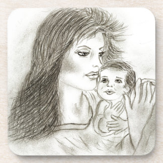 Mother and Child Coaster