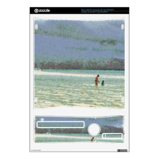 Mother and child enjoying on the beach xbox 360 s skins