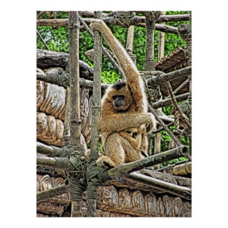 Mother and Child Gibbons Painting Print