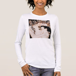 Mother and Child Gustav Klimt Long Sleeve T-Shirt