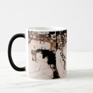 Mother and Child Gustav Klimt Magic Mug
