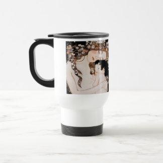 Mother and Child Gustav Klimt Travel Mug