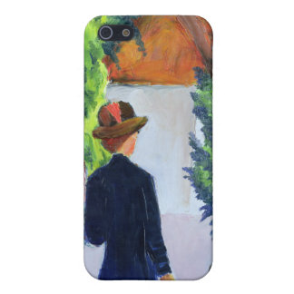 Mother and Child in the Park, 1914 iPhone SE/5/5s Cover
