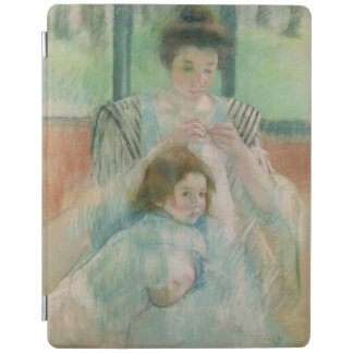 Mother and child iPad smart cover