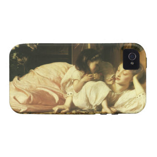 Mother and Child, Leighton, Vintage Victorian Art iPhone 4/4S Case