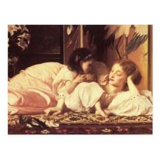 Mother And Child - Lord Frederick Leighton Postcard