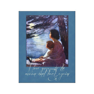 Mother and Child Love Canvas Print