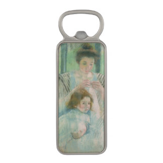 Mother and child magnetic bottle opener