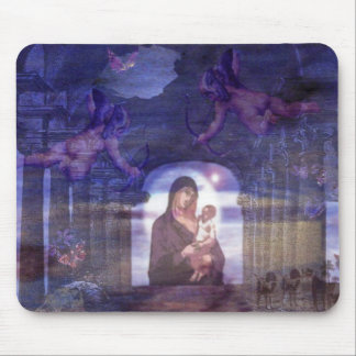 Mother and Child Mousepad