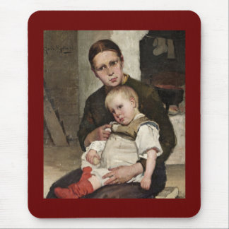 Mother and Child Mouse Pad