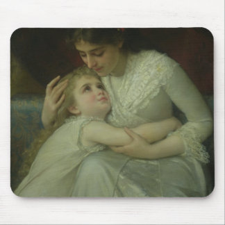 Mother and Child (oil on canvas) Mouse Pad