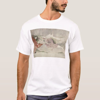 Mother and Child on a Couch T-Shirt