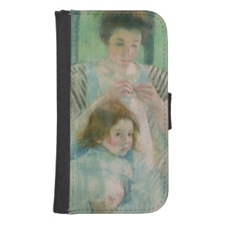 Mother and child phone wallet