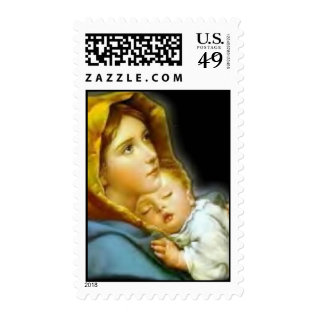 Mother And Child Postage at Zazzle