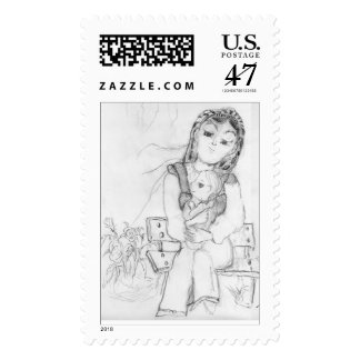 Mother and Child Postage