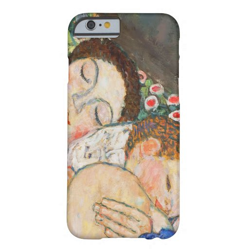 Mother and Child Sleeping iPhone 6 Case
