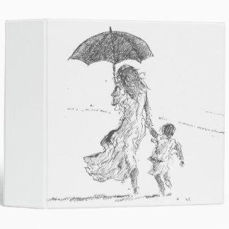 Mother and Child Sri Lanka Vinyl Binder