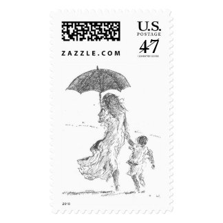 Mother and Child Sri Lanka Postage