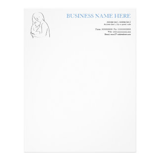 Mother and child stationery