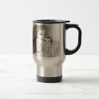 Mother and Child Travel Mug