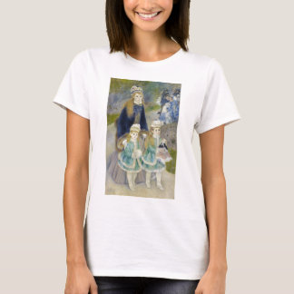 Mother and Children, La Promenade, Renoir T-Shirt