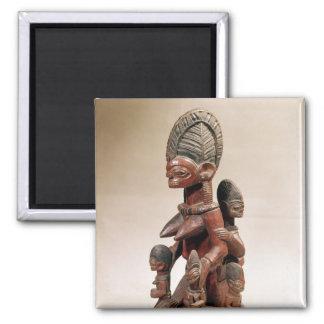 Mother and children fridge magnets