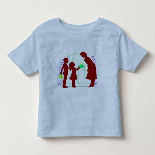 MOTHER AND CHILDREN TODDLER T-SHIRT