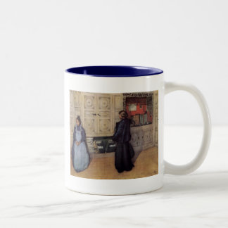 Mother and Daughter 1903 Two-Tone Coffee Mug