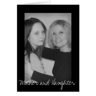 Mother and Daughter Cards