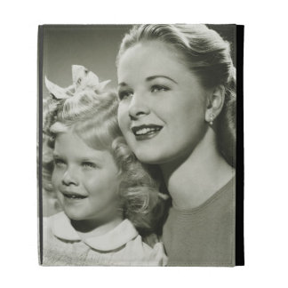 Mother and Daughter iPad Folio Case