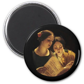 Mother and Daughter Duet Magnet