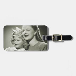 Mother and Daughter Travel Bag Tag