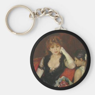 Mother and Daughter Portrait Keychain