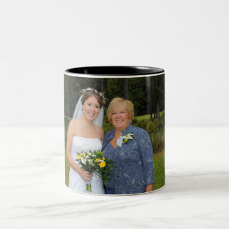 Mother and Daughter Two-Tone Coffee Mug