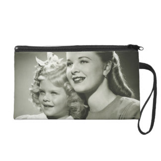 Mother and Daughter Wristlet