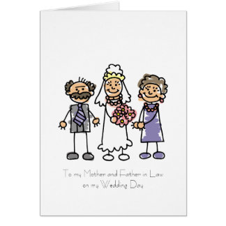 Mother and Father in Law Poem Greeting Cards